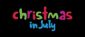 Logo: Rainbow Club Christmas in July