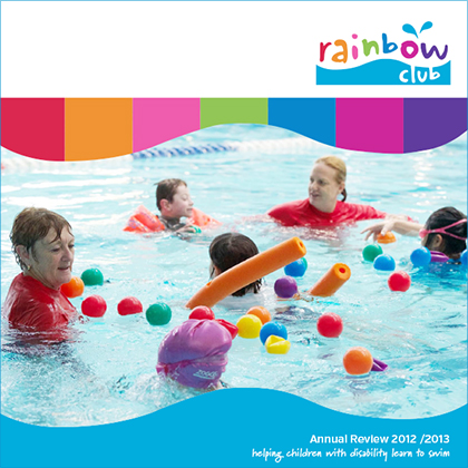 2012/13 Rainbow Club Annual Report Cover