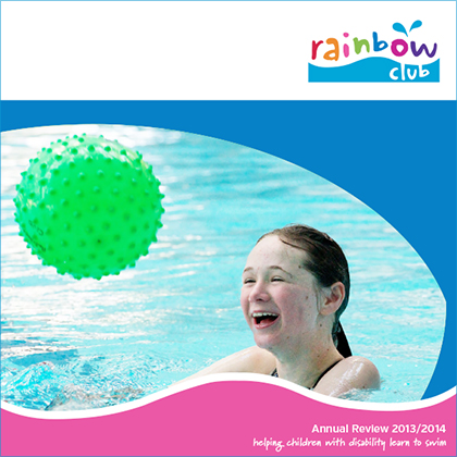 2013/14 Rainbow Club Annual Report Cover