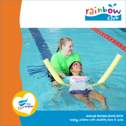 2014/15 Rainbow Club Annual Report Cover