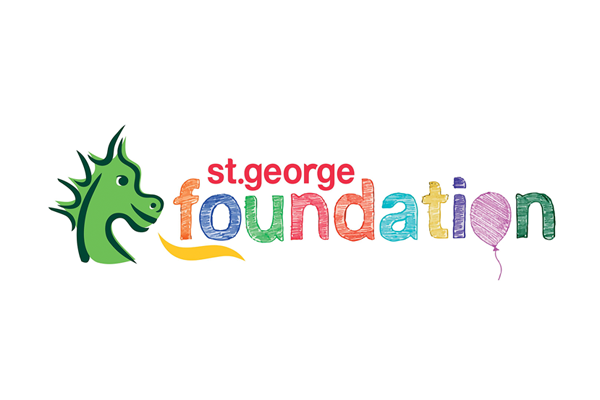 Logo: St George Foundation Rainbow Club Supporter