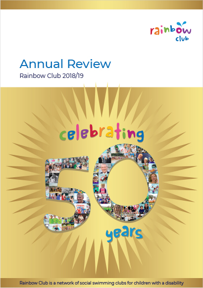 Rainbow Club Annual Review 2018/19 Celebrating 50 years