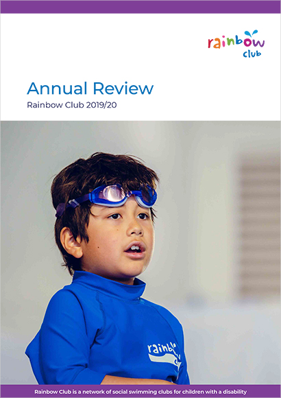 2017/18 Rainbow Club Annual Report Cover