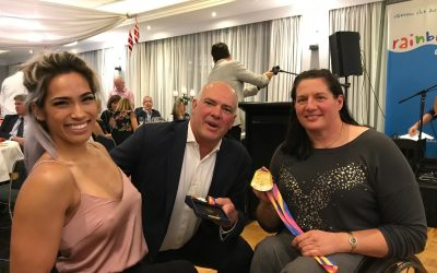 Louise Sauvage coaches Madison to Gold